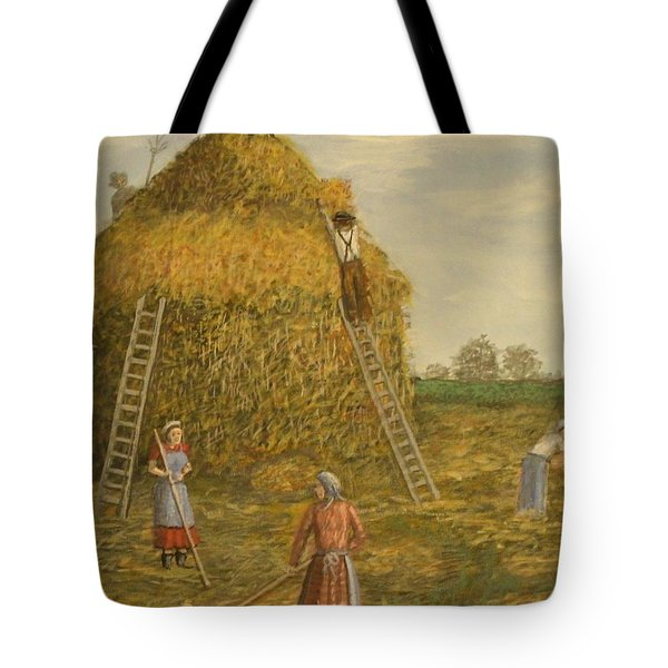 Hay Days. Tote Bag by Larry Lamb