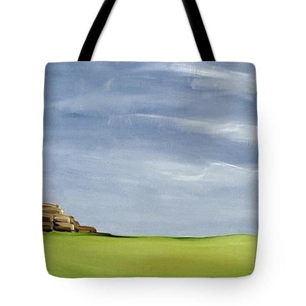 Haybarn Dreaming Tote Bag by Ana Bianchi