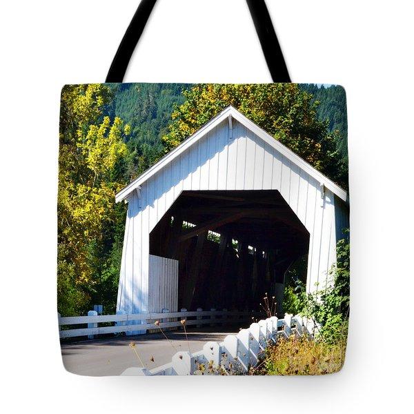 Hayden Covered Bridge Tote Bag