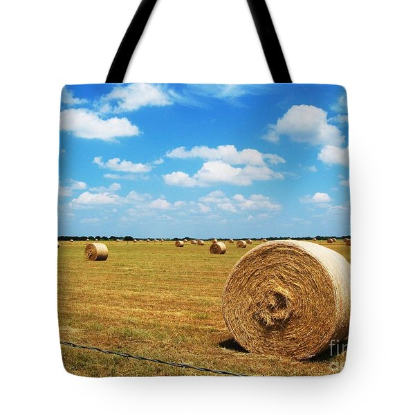 Hayfield Tote Bag by Venus