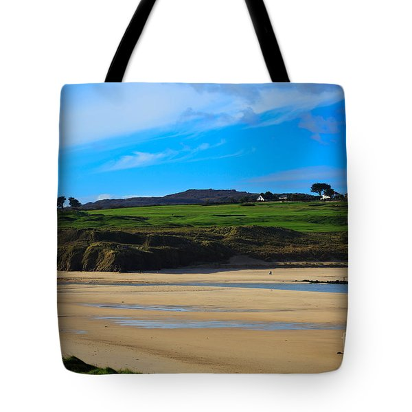 Hayle Estuary Cornwall Tote Bag by Louise Heusinkveld