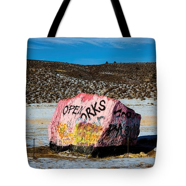 Haystack Rock Tote Bag by Jon Burch Photography