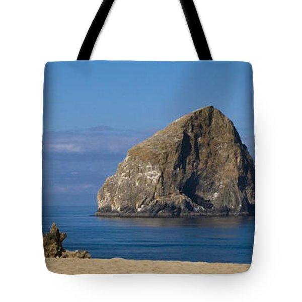 Haystack Rock - Pacific City Oregon Coast Tote Bag by Brian Harig