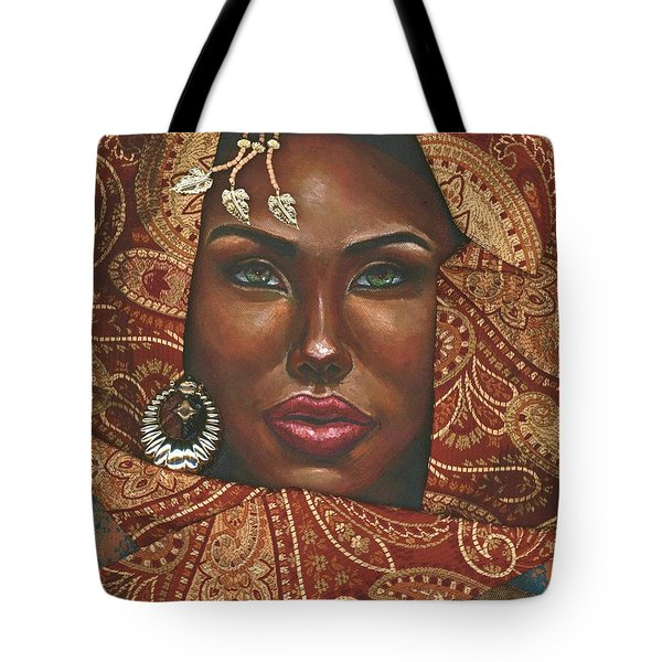 Hazel Eyes Tote Bag