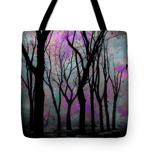 Hazy Purple Tote Bag