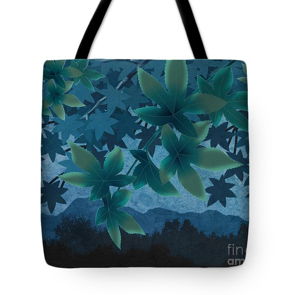 Hazy Shades - Evening Version Tote Bag by Bedros Awak