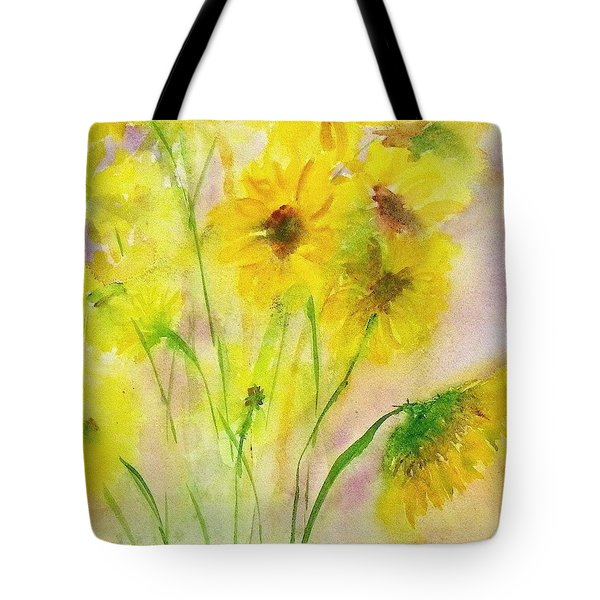 Hazy Summer Tote Bag