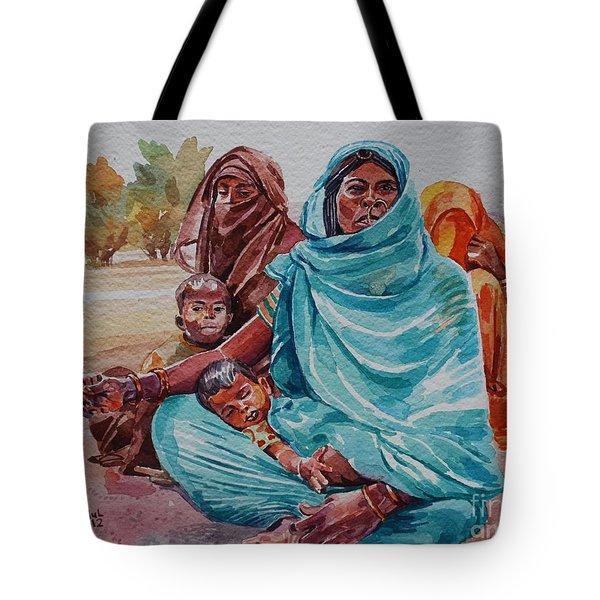 Hdndoh Eastern Sudan Tote Bag by Mohamed Fadul