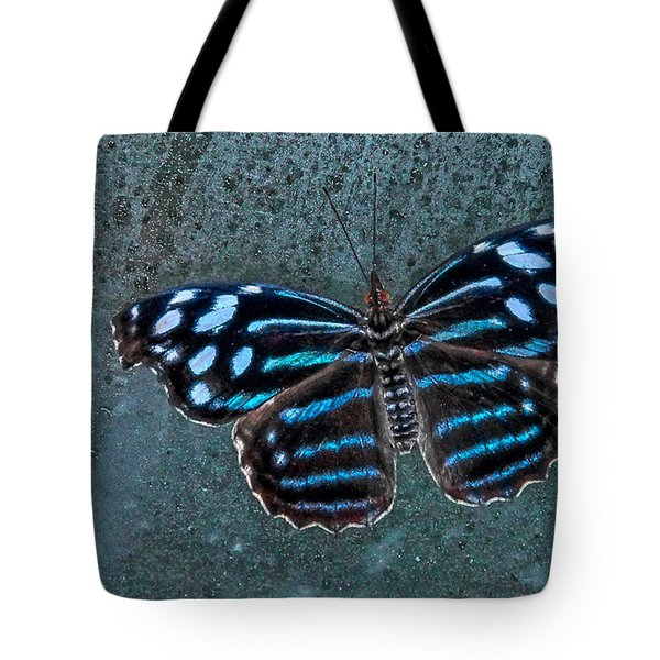 Hdr Butterfly Tote Bag