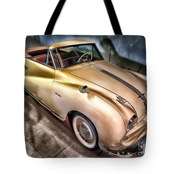 Tote Bag featuring the photograph Hdr Classic Car by Paul Fearn