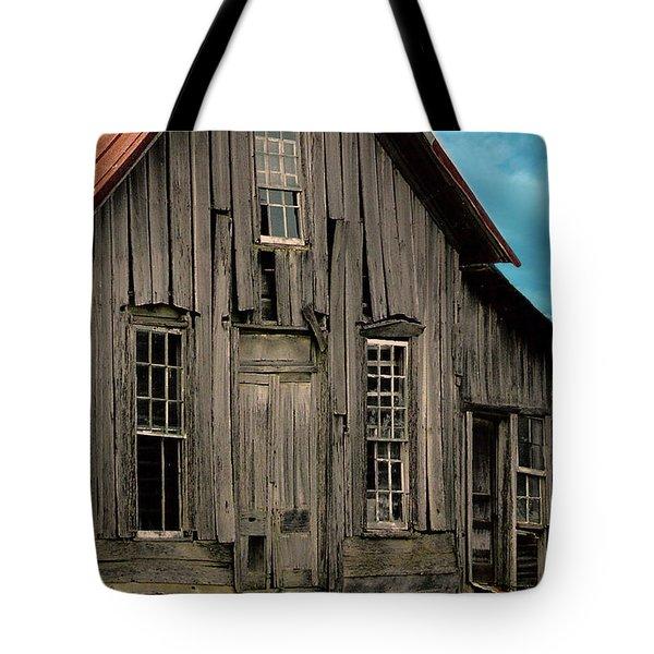 Shack Of Elora Tn  Tote Bag by Lesa Fine