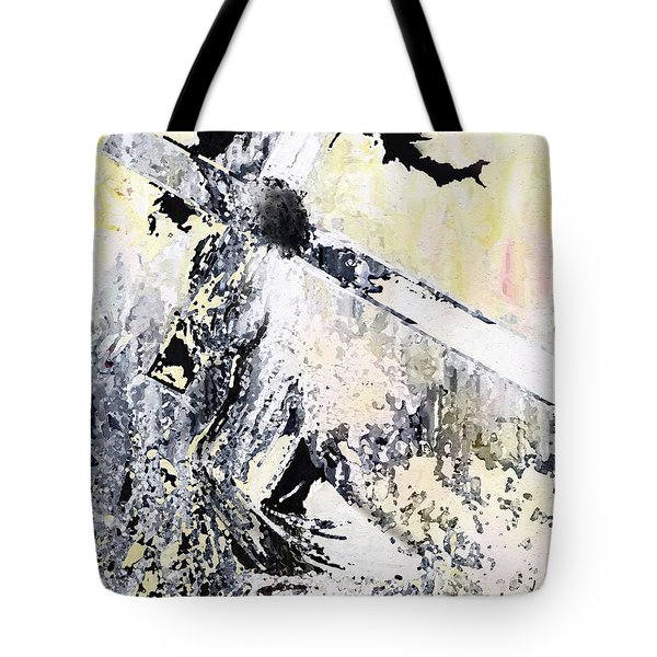 He Loved Us More Tote Bag by Kume Bryant