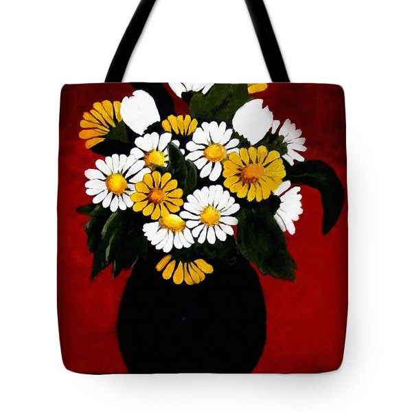 He Loves Me... Tote Bag by Barbara Griffin