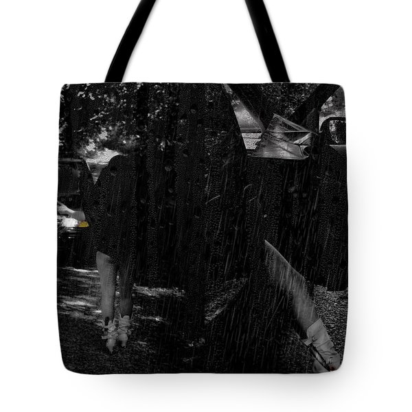He Never Came Home Tote Bag by Kristie  Bonnewell