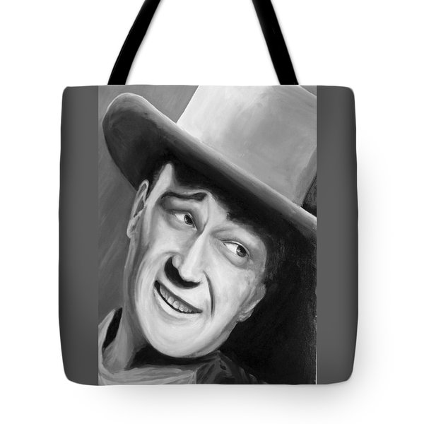 He Played A Cowboy Tote Bag