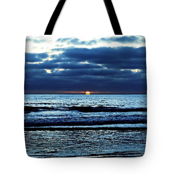 He Shall Be Great To The Ends Of The Earth Tote Bag by Sharon Soberon