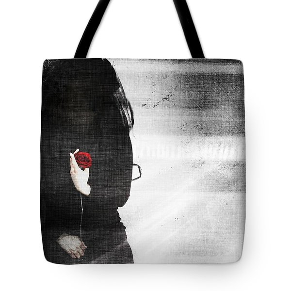 He Took My Sense Of Self Tote Bag