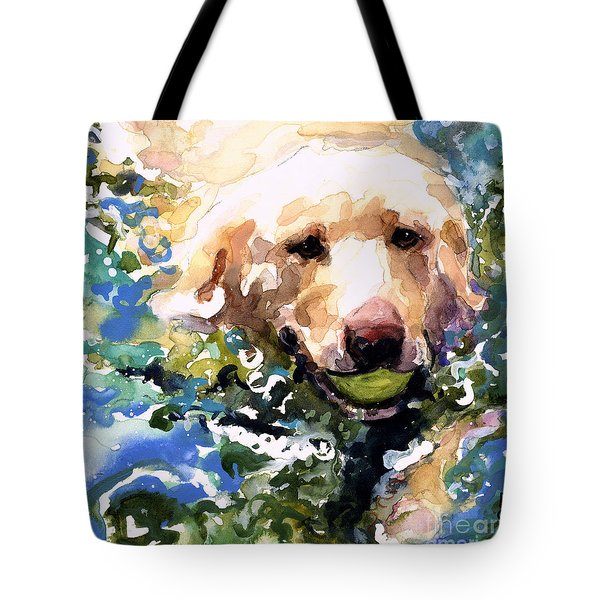 Head Above Water Tote Bag by Molly Poole