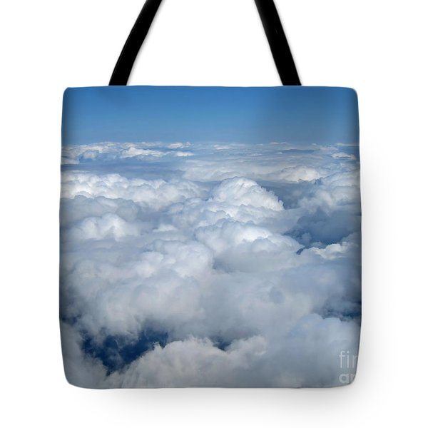 Head In The Clouds Art Prints Tote Bag