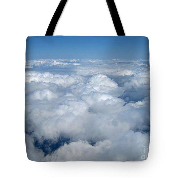 Head In The Clouds Art Prints Tote Bag