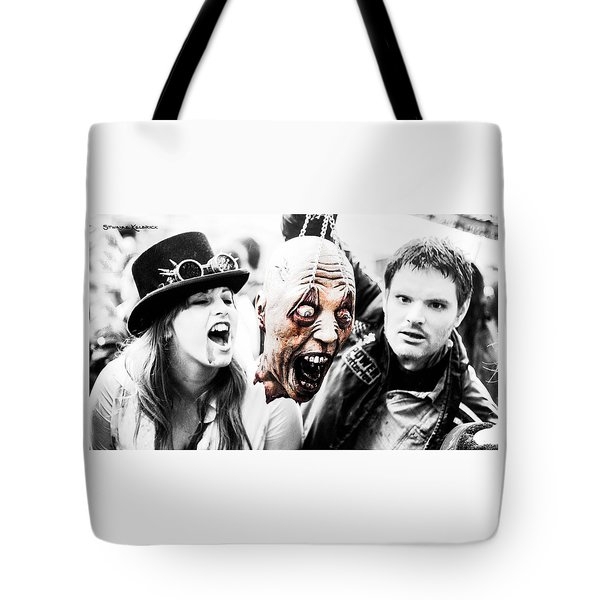 Head Of The Death Tote Bag