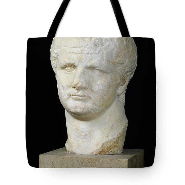 Head Of Titus Tote Bag by Anonymous