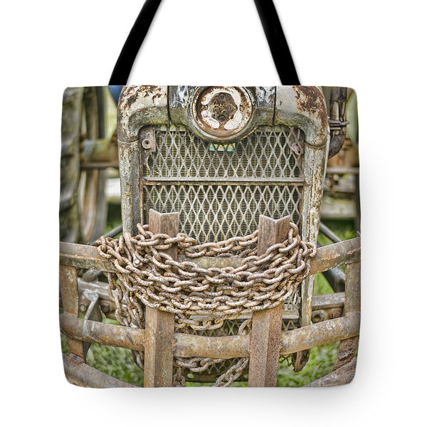 Head On Tote Bag by Heather Applegate