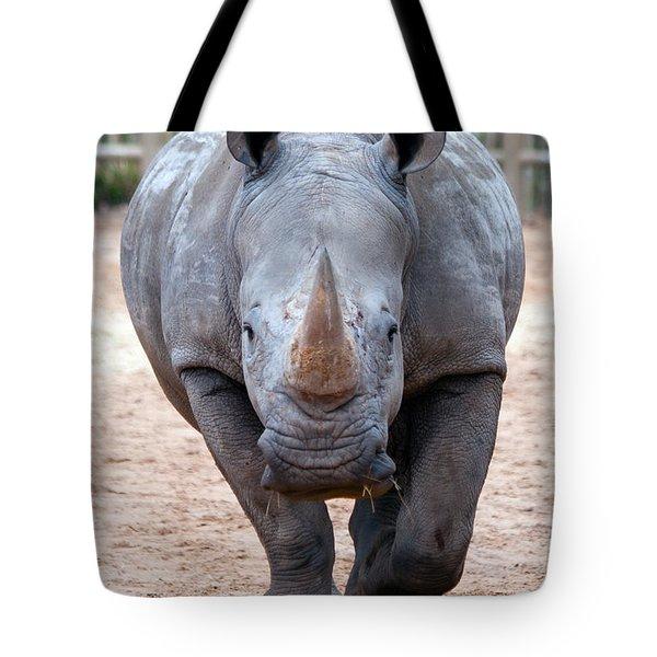Head On Tote Bag by Tim Stanley