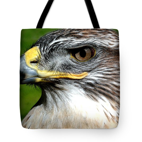 Head Portrait Of A Eagle Tote Bag