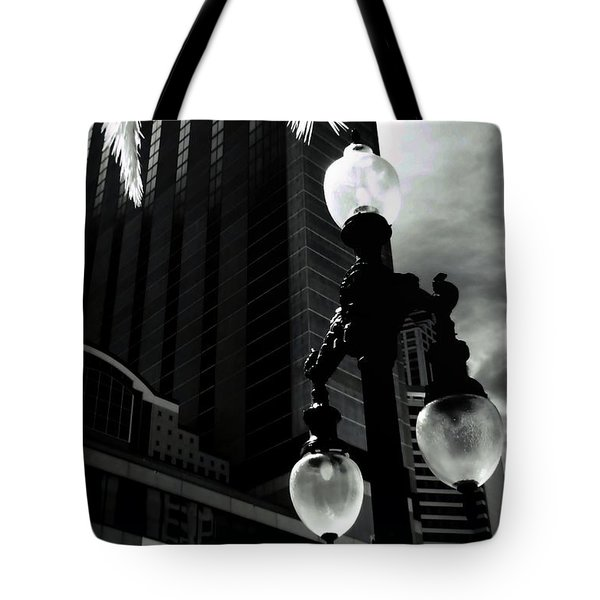 Head Toward The Light Tote Bag by Robert McCubbin