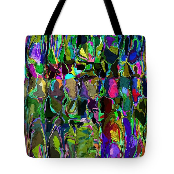 Head Voices Tote Bag by David Lane