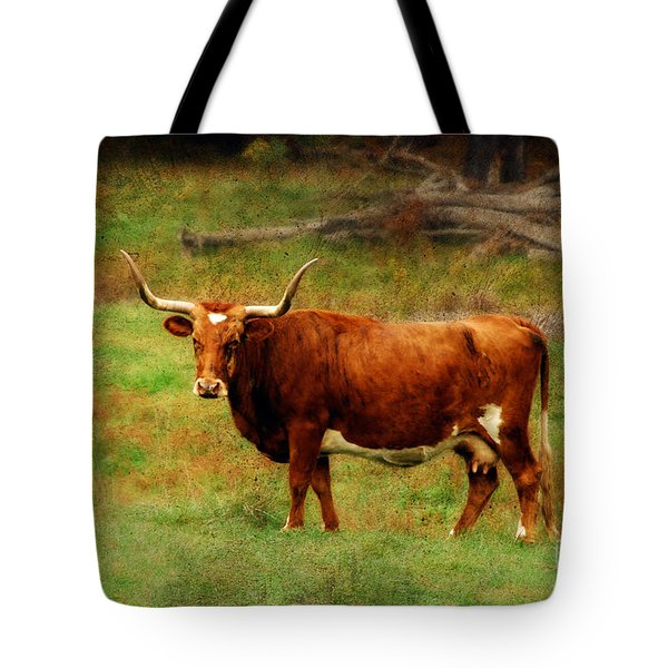 Heading For The Barn Tote Bag by Lois Bryan