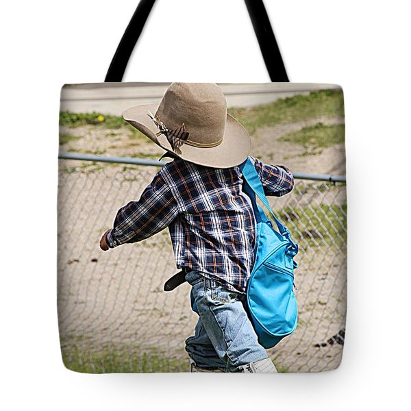 Heading For The Chute Tote Bag