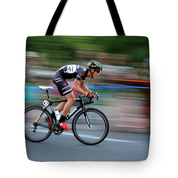 Tote Bag featuring the photograph Heading For The Finish Line by Kevin Desrosiers