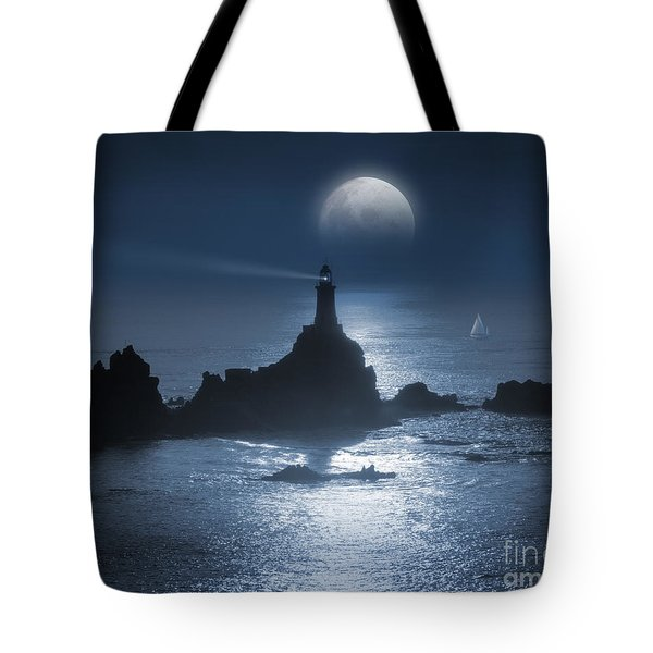 Heading For The Light Tote Bag