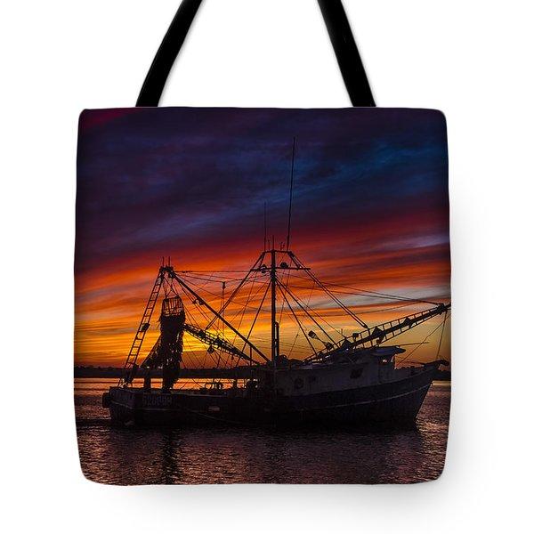 Heading Home Tote Bag by Debra and Dave Vanderlaan