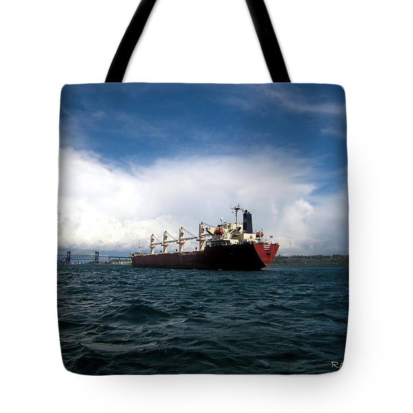 Heading Home Tote Bag by Ron Haist