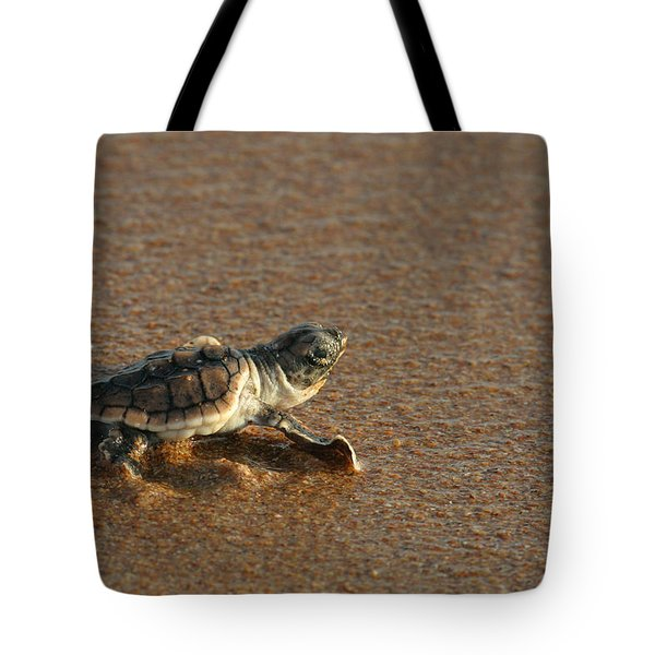 Heading Out To Sea Tote Bag