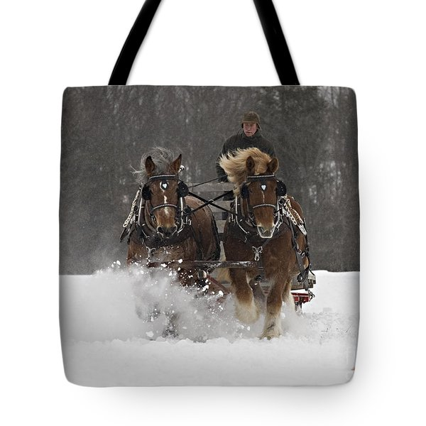 Heading To The Finish Tote Bag
