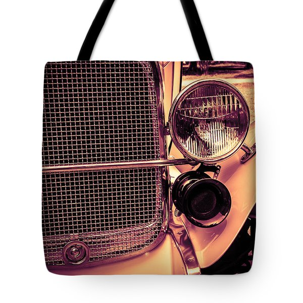 Headlight And Horn Tote Bag