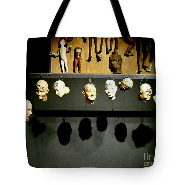 Tote Bag featuring the photograph Heads Will Roll by Newel Hunter