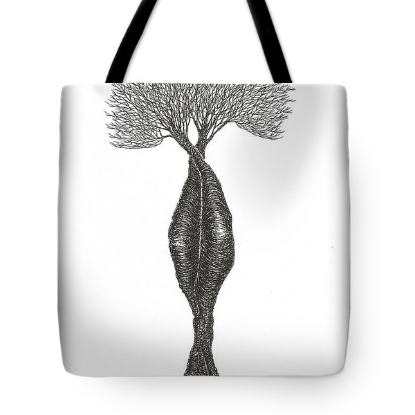 Headstand Tote Bag