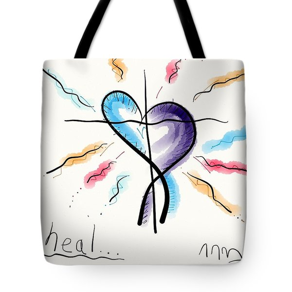 Heal... Tote Bag by Jason Nicholas