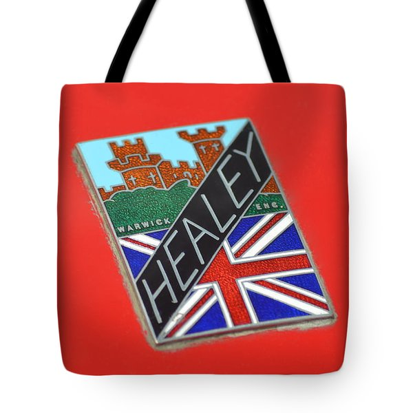 Healey Silverstone D Type Tote Bag by Frozen in Time Fine Art Photography