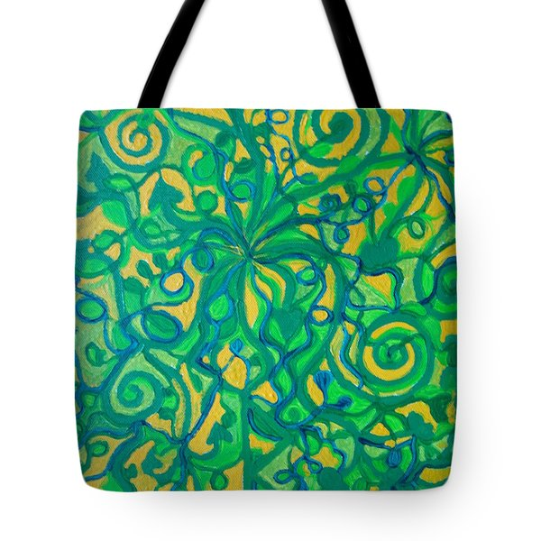Healing And Nutrition Tote Bag