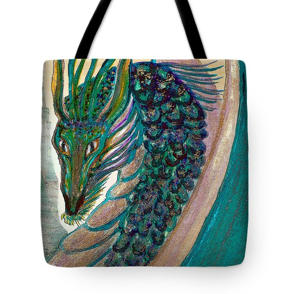 Healing Dragon Tote Bag