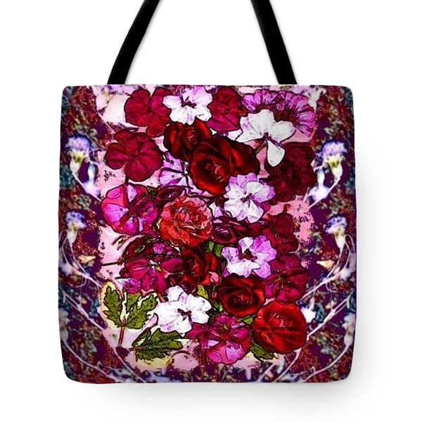Healing Flowers For You Tote Bag