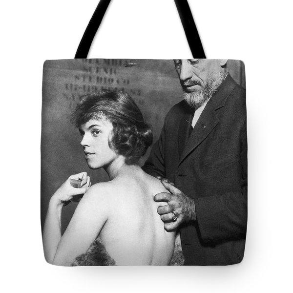 Healing For Ziegfeld Dancer Tote Bag
