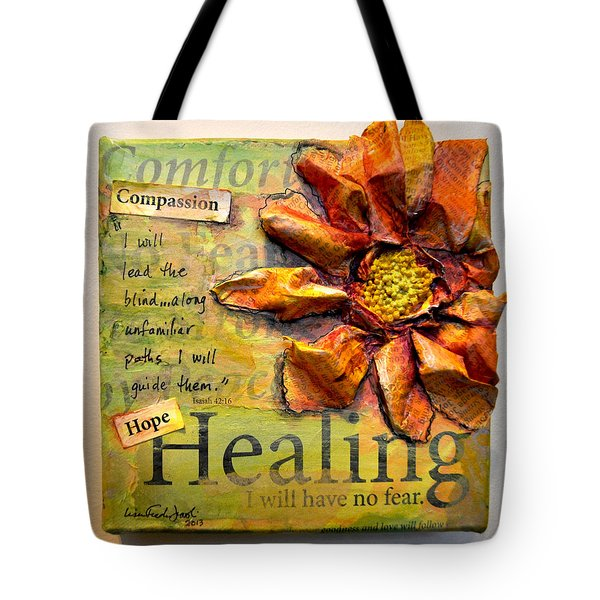 Healing From Isaiah 42 Tote Bag
