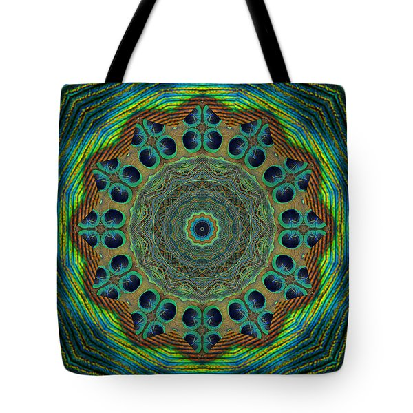 Tote Bag featuring the photograph Healing Mandala 19 by Bell And Todd